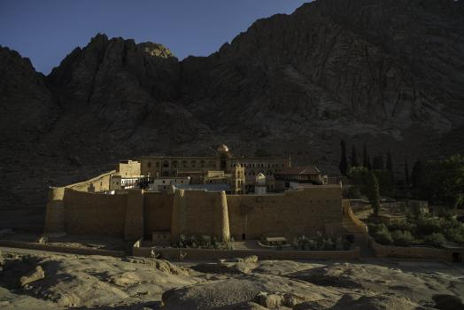 St  Catherine's Monastery, its Library, and its Palimpsests